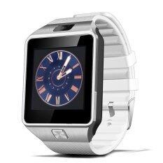 LNW กล้องนาฬิกาบูลทูธ ใส่ซิมได้ Bluetooth Smart Watch SIM Card Camera รุ่น DZ09 (สีขาว)