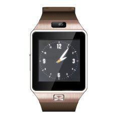 LNW กล้องนาฬิกาบูลทูธ ใส่ซิมได้ Bluetooth Smart Watch SIM Card Camera รุ่น DZ09 (สีทอง)
