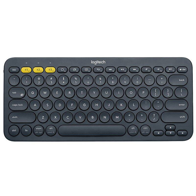 Logitech Bluetooth Multi-Device Keyboard K380 - Black