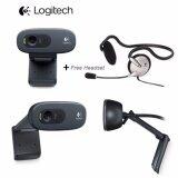 ขาย Logitech กล้องเว็บแคม รุ่น C270H การสนทนาผ่านวิดีโอ Hd ไมค์แบบในตัว พร้อมด้วย Rightsound Logitech