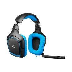 Logitech G430 Dolby 7 1 Surround Sound Gaming Headset Black Blue เป็นต้นฉบับ