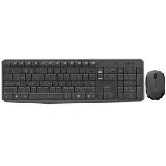 Logitech Keyboards + Mouse Wireless Combo MK235 - Black TH