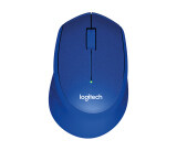 ซื้อ Logitech M331 Silent Plus Wireless Mouse Blue ออนไลน์