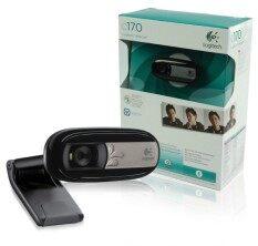 ซื้อ Logitech Webcam Qcam C170 Black Logitech