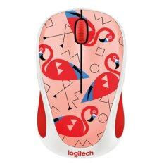 ขาย Logitech Wireless Mouse M238 Flamingo ใหม่