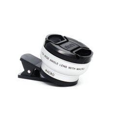 Lomo Clip Lens เลนส์เสริมมือถือ Super Premium 2in1 (Silver)