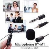 ราคา Lovbag ไมโครโฟน Boya Lavalier Microphone By M1 สำหรับ สมาร์ทโฟน Iphone 5S 6 Plus Dslr Nikon สีดำ ใหม่