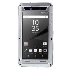 ราคา ราคาถูกที่สุด Love Mei Dropproof Protective Case For Sony Xperia Z5 Premium Premium Dual Silver Intl