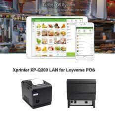 ราคา โปรแกรมขายหน้าร้าน Loyverse Pos ด้วยเครื่องพิมพ์ Xp Q200 Lan ใหม่