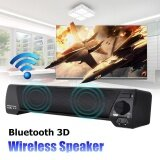 ขาย Lp 09 Wireless Bluetooth 3D Surround Theater Soundbar Stereo Bass Speaker Tablet Black Intl Unbranded Generic ออนไลน์