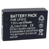 ส่วนลด แบตเตอรี่กล้อง รหัสแบต Lp E12 Lpe12 875Mah แบตกล้องแคนนอนCanon For Canon Eos 100D Eos M Eos M2 Eos M10 Canon Battery Black For Canon