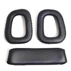 ขาย Lumiparty Anbana ® Black Color 1 Pair Replacement Earpad Ear Pad And 1 Replacement Headband Cushion For Logitech G35 G930 G430 F450 Headphones ออนไลน์ ใน จีน