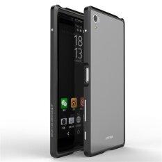 ขาย Luphie กรอบอลูมิเนียมกันชนหรูหราสำหรับ Sony Z5 พรีเมี่ยม ถูก