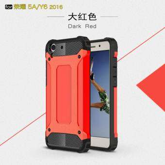 ... TPU สำหรับ Huawei Y6II/Honor 5A - สีชมพู. Source · ราคา Luxury 2 in 1 Hybrid Durable Shield Armor Shockproof Hard Rugged Phone Case Cover For