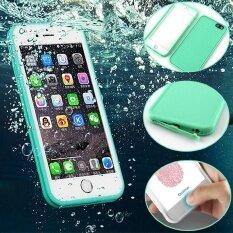 โปรโมชั่น Luxury 360 Degree Soft Silicone Waterproof Cases For Iphone 6 6S Plus Intl Unbranded Generic