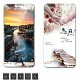 Luxury 3D Painting Front Back Full Case Cover Color Tempered Glass Case For Samsung Galaxy C9 Pro C9Pro C9000 6 Inch Screen Protector Film Multicolor 2 Intl ใหม่ล่าสุด