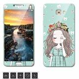 ขาย ซื้อ Luxury 3D Painting Front Back Full Case Cover Color Tempered Glass Case For Samsung Galaxy C9 Pro C9Pro C9000 6 Inch Screen Protector Film Multicolor 21 Intl