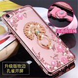ขาย Luxury Rhinestone Phone Case Cover Finger Rotated Ring Holder Stand Tpu For Vivoy53 Y53A Y53L 5 Inch Case Multicolor 2 Intl ผู้ค้าส่ง