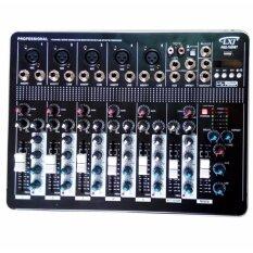 LXJ สเตอริโอมิกเซอร์7ช่อง BLUETOOTH USB MP3 DIGITAL EFFECT รุ่น MX-7000BT