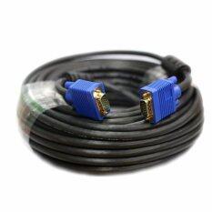 M-tech สาย VGA M/M 15เมตร (สีน้ำเงิน/สีดำ)