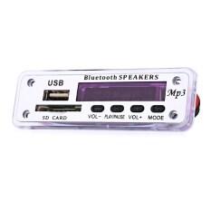 โปรโมชั่น M01Bt Mp3 Decoder Board Bluetooth Hands Free Call Remote Control Power Cut Memory Function Intl ถูก