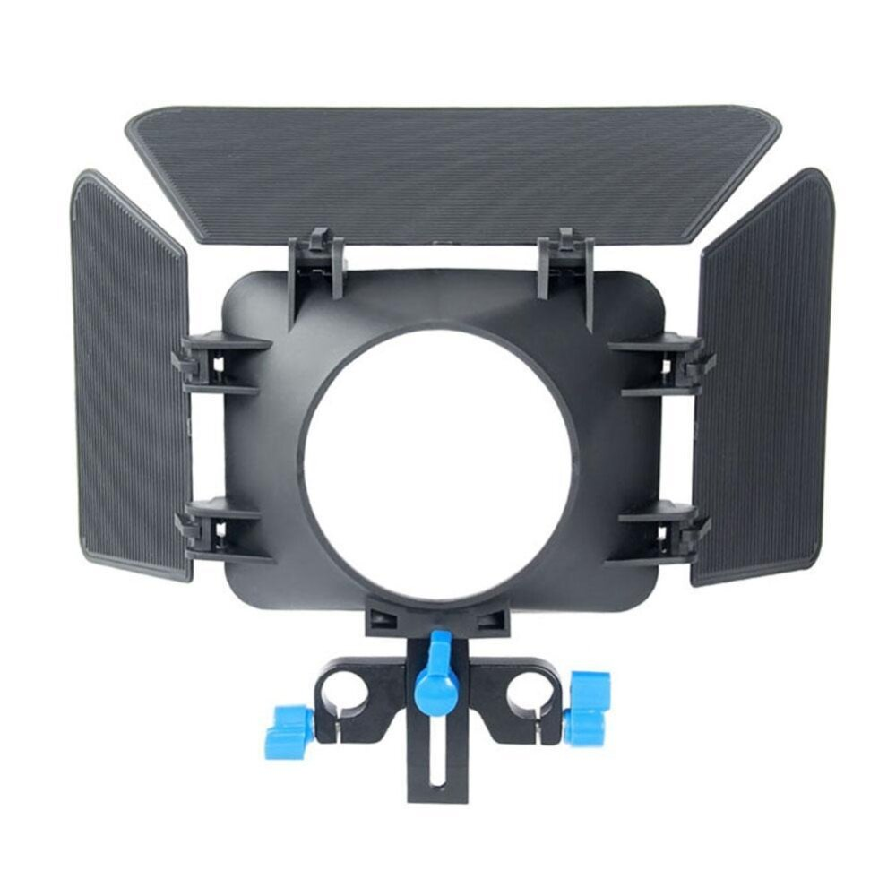 (Free shipping)M1 Matte Box Camera Shade 15mm Rail Rod Follow Focus Rig Cage Camera - intl