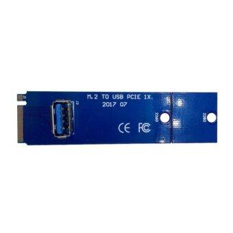 M.2 NGFF to USB3.0 Converter Card Bitcion Mining Riser Card VGA Extension Cable