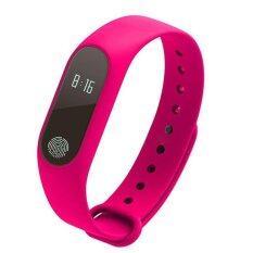 M2 สายรัดข้อมือสมาร์ทนาฬิกาเตือนกีฬาสร้อยข้อมือสมาร์ทสำหรับ Ios และแอนดรอยด์ นานาชาติ Smart Bracelet ถูก ใน จีน