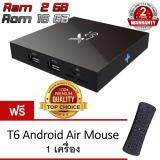 ขาย M8S X96 M8S 16Gb Android 6 1 Tv Box Ipplaybox Quad Core 3D 4K Ultra Hd 2160P Black แถมฟรี Android Air Mouse Keyboard T6 ออนไลน์ ใน Thailand