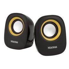 ซื้อ Macnus Usb Mini Speaker 2 Channel รุ่น Adl 005 Black Orange ถูก