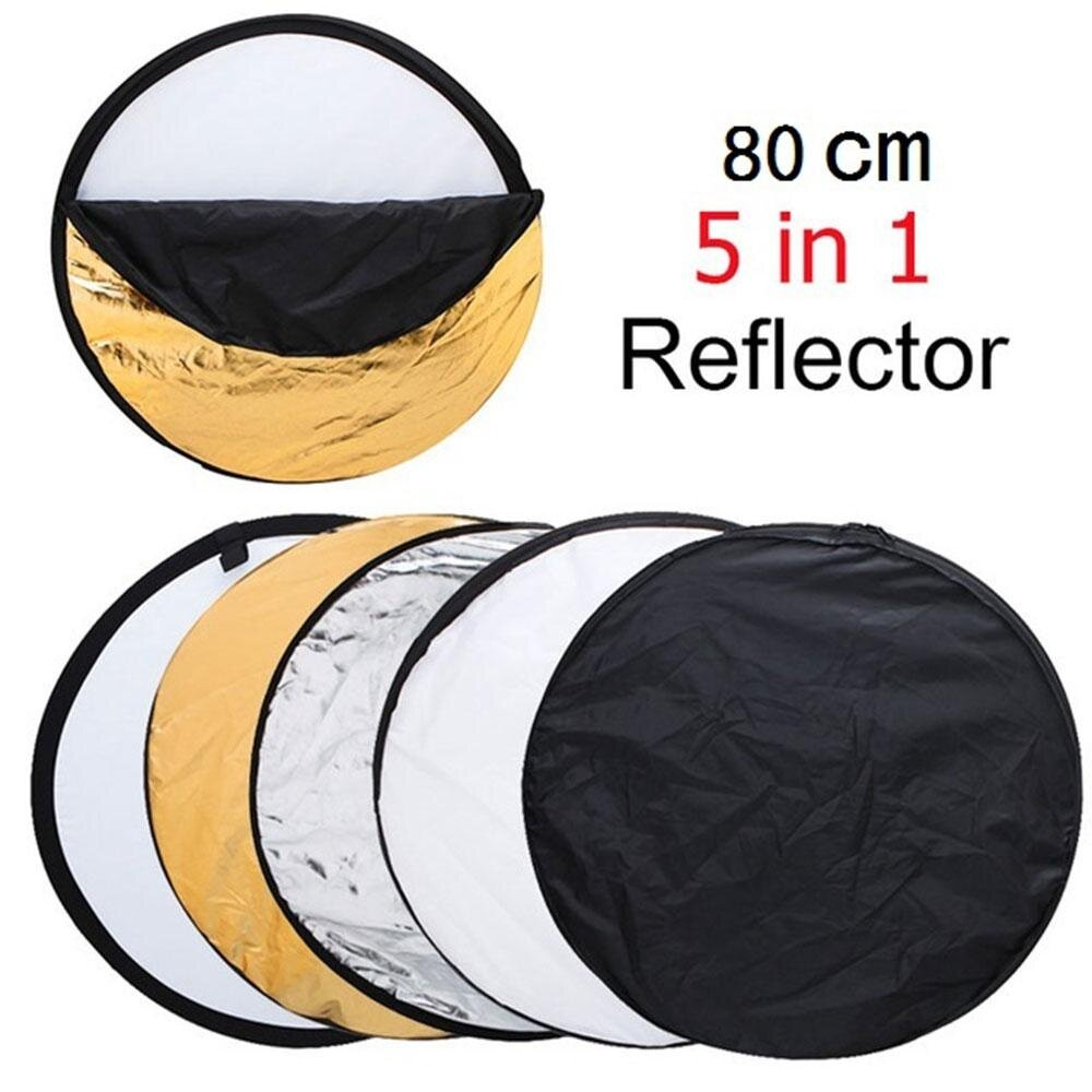 "MagicWorldMall Professional Camera Accessories 22"" 60cm 5 in 1 Multi Functional Photo Studio Collapsible Light Reflector - intl"