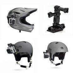 Magideal ด้านข้างชุดแบนโค้งหัวเข็มขัดธรรมดา Mount + 3 ชุดสกรูสำหรับ Gopro Hero 4 5/sjcam Sj6000 Sj7000 กลางแจ้งกล้องเพื่อการกีฬา - Intl.