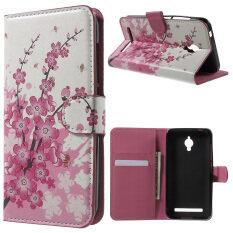 ขาย Magnetic Leather Stand Case Cover For Asus Zenfone Go Zc500Tg Pink ผู้ค้าส่ง