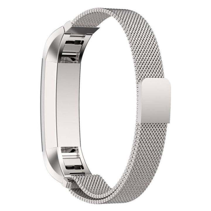 Miimall Milanese Loop Stainless Steel Replacement Bracelet Strap Source · Magnetic Milanese Stainless Steel Wrist Band for FitBit Alta HR Tracker