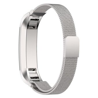 Magnetic Milanese Stainless Steel Wrist Band for FitBit Alta HR Tracker