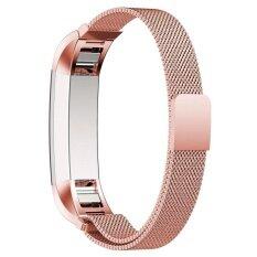 ขาย สายรัดข้อมือสเตนเลสสตีลแม่เหล็ก สำหรับ Fitbit Alta Hr Tracker ใน กรุงเทพมหานคร