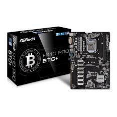 Mainboard ASRock H110 Pro BTC+ ใส่ได้ 13GPU สำหรับงาน Mining