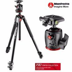 Manfrotto 190 Aluminium 3-Section Tripod and XPRO Ball Head MK190XPRO3-BHQ2