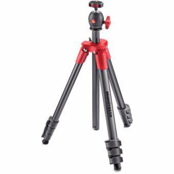 Manfrotto Compact Light Aluminum Tripod (Red)
