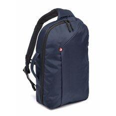 "Manfrotto NX camera sling bag I Blue for CSC  กระเป๋าสะพายไหล่เฉียงสะพายหลังเฉียงกล้องดีเอสแอลอาร์ซีเอสซีมิลเล่อร์เลสและคอมพิวเตอร์โน้ตบุ๊คแล็บท็อป13""  กระเป๋าสะพายไหล่เฉียงสะพายหลังเฉียงกล้องDSLR CSC MirrorlessและComputer notebook laptop13"