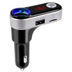 ส่วนลด บลูทูธในรถยนต์ Bc09B Bluetooth Car Charger ของแท้100 Fm Modulator Car Kit Wireless Fm Bluetooth