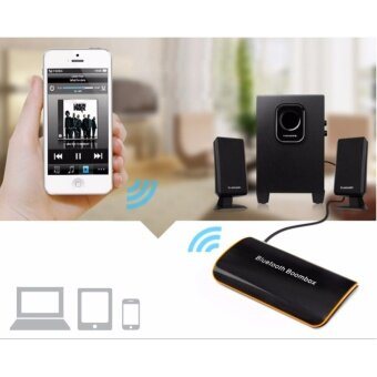 B2 Bluetooth Receiver หูฟังสเตอริโอบลูทูธไร้สายบลูทูธ 4.1+EDR เสียงกล่องดนตรีกับไมค์ 3.5มมอาร์ซีเอสำหรับระบบเสียงลำโพงรถบ้านรองอุปกรณ์