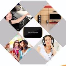 โปรโมชั่น B2 Bluetooth Receiver หูฟังสเตอริโอบลูทูธไร้สายบลูทูธ 4 1 Edr เสียงกล่องดนตรีกับไมค์ 3 5มมอาร์ซีเอสำหรับระบบเสียงลำโพงรถบ้านรองอุปกรณ์ Bluetooth ใหม่ล่าสุด