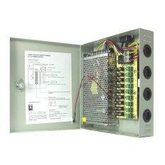 Marshal ตู้จ่ายไฟ  DC12V 10A  Switching Power Supply สำหรับกล้องวงจรปิด 5-9 ตัว