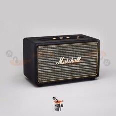 Marshall Acton Bluetooth Speaker Black ลำโพงบลูทูธแบบพกพา