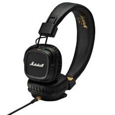 Marshall Headphone With Mic Major Ii Black เป็นต้นฉบับ