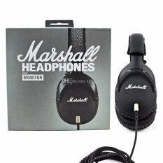 Marshall Headphones Monitor Black หูฟังสุดหรู รับประกันศูนย์