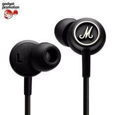 Marshall Mode หูฟังอินเอียร์ - black/white ของแท้ ประกันศูนย์ไทย