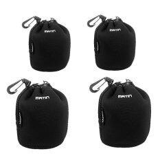 ขาย Martin ชุดถุงใส่เลนส์ Lens Pouch 4 ขนาด S S M M Black ใหม่