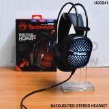 ราคา หูฟัง Marvo Backlighted Stereo Headset ไฟ 7 สี รุ่น Hg8941 ประกัน 1 ปี ใหม่